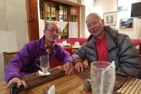 ワリソーさん75歳サハマ最高齢登頂&IHさん南米五大峰完登