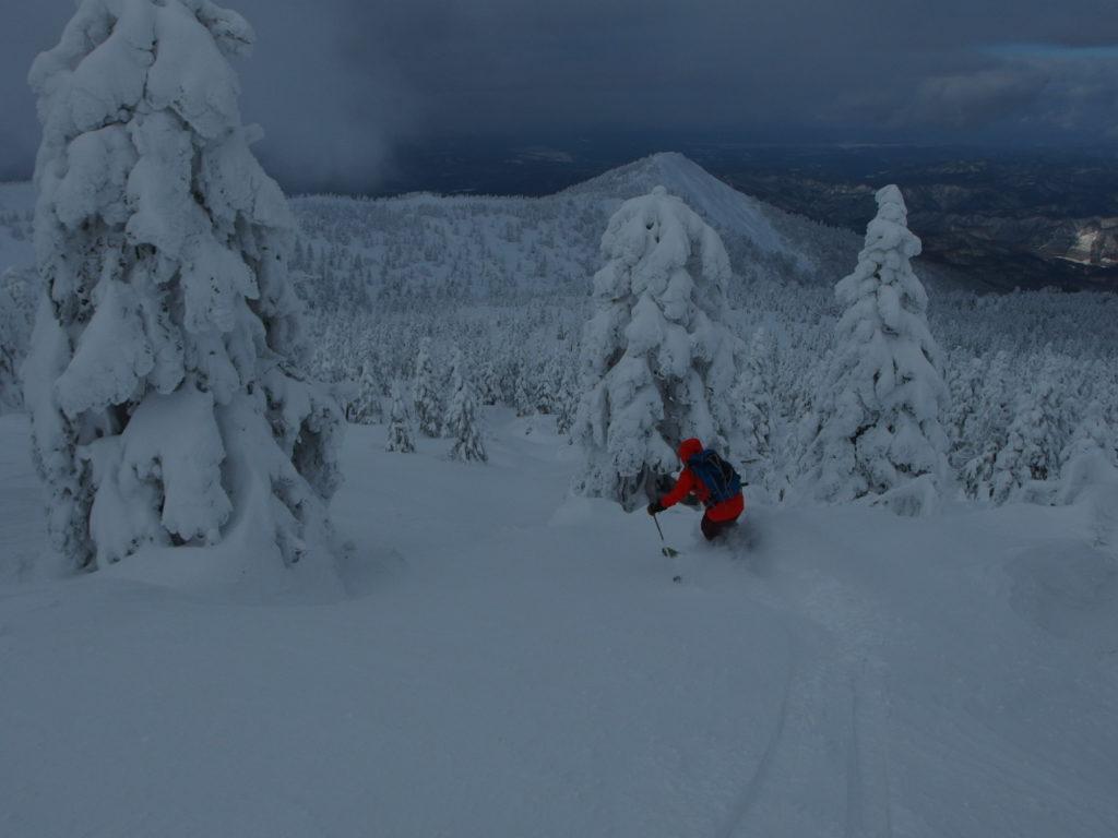1月6日7日8日 秋田駒ケ岳 森吉山 乳頭山 山スキーツアー3日間