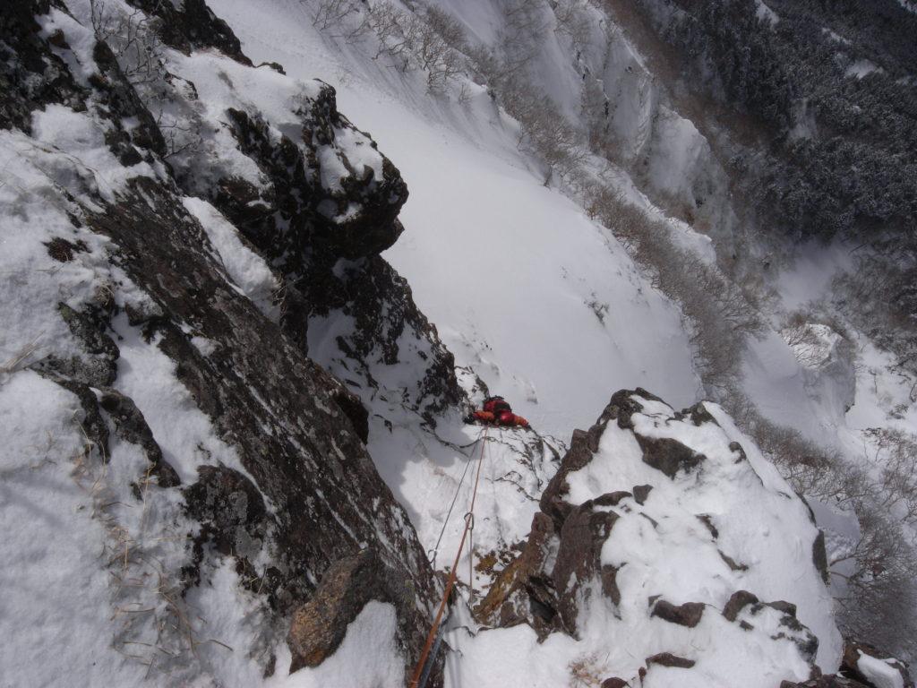 3月21日22日 八ヶ岳・赤岳西壁主稜冬季登攀&アイス・クライミング講習会2日間