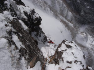 雪洞登山 五竜岳2814m