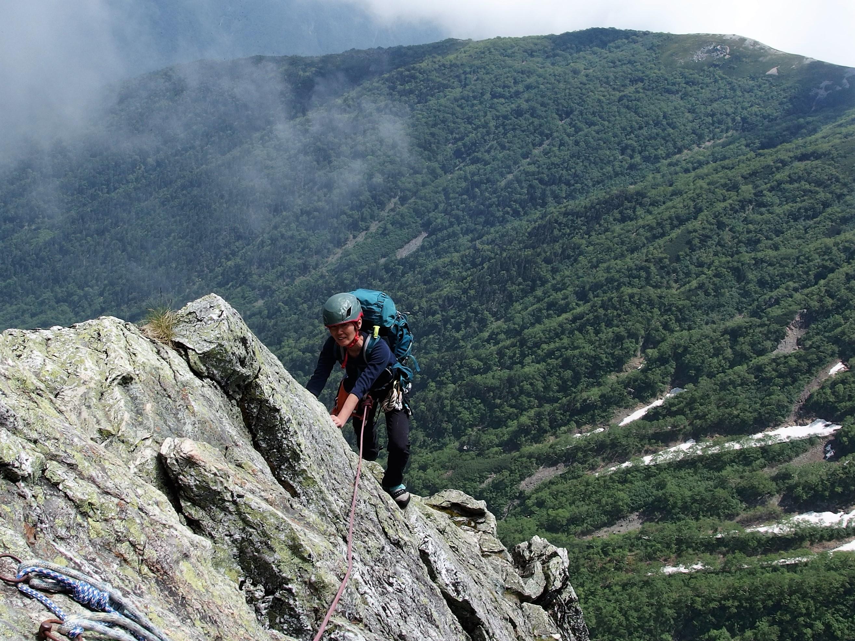7月28日29日 北岳バットレス第四尾根 3193m 2日間