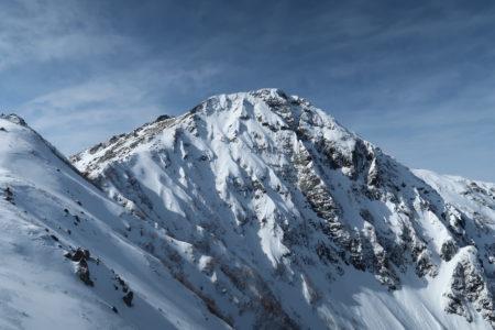 厳冬期北岳3193m登頂!