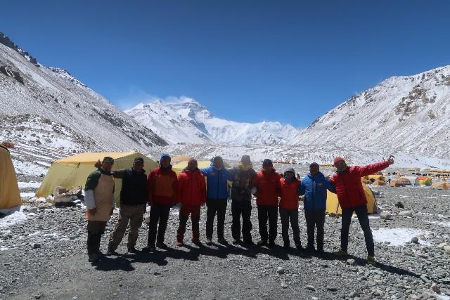 エベレスト登山隊2019チベット登山開始!