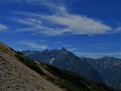 8月10~12日 山の日特別企画 槍ヶ岳3180m北鎌尾根3日間