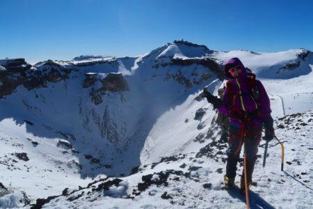 冬の日本最高峰富士山3776m登頂!