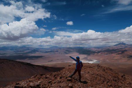 シエテ・エルマノス山4878m