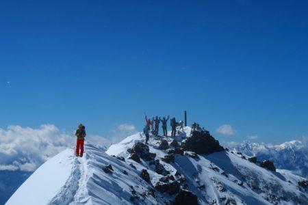 八ヶ岳赤岳2899m登頂!