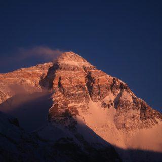 世界の山々ご紹介 世界最高峰エベレスト8848m
