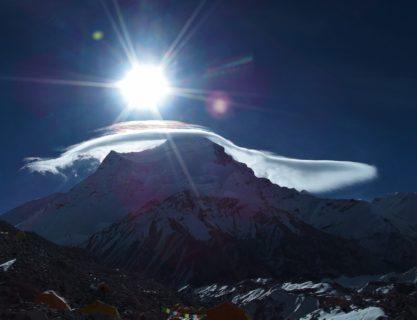 中国チベット チョー・オユー8201m