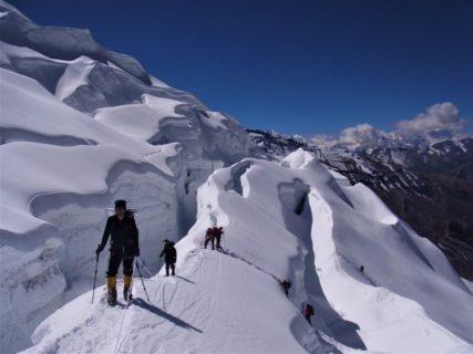 ネパール ヒマラヤ ヒムルン・ヒマール7126m