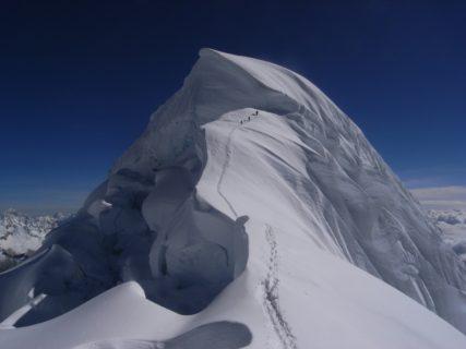 南米ペルー アンデス チョピカルキ6354m ピスコ5752m