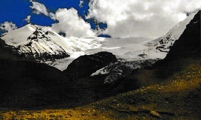 中国チベット ヒマラヤ ジャンサン・ラモ6325m