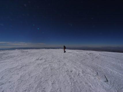 南米ボリビア最高峰サハマ6542m アコタンゴ6052m