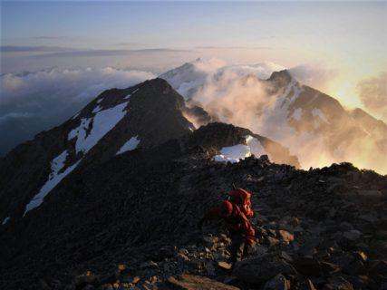 9月19日~22日 穂高連峰 ジャンダルム畳岩尾根と北穂高岳滝谷