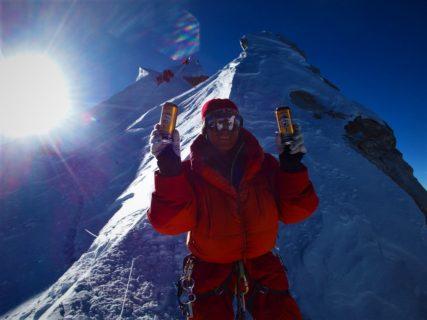 5年前の今日も マナスル8163m登頂