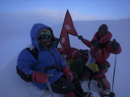 8年前の今日は、ヒムルン7126mに登っていました。