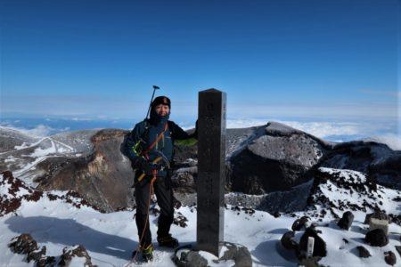 冬富士登頂!