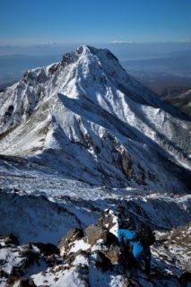 平日前泊日帰りマンツーマン雪山登山ガイド@八ヶ岳赤岳2899m西壁主稜