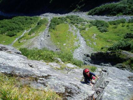 7月3日4日 北岳バットレス3193m ピラミッドフェース~第四尾根2日間