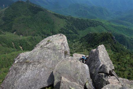 瑞牆山南壁トムソーヤの冒険