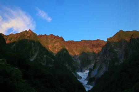 今シーズン最高の天気!谷川岳一ノ倉沢衝立岩中央稜