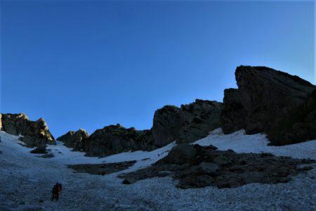 剱岳2999m八ツ峰六峰Cフェース~八ツ峰上半