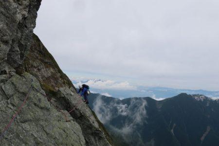 北岳バットレス3193m ピラミッドフェース~第四尾根