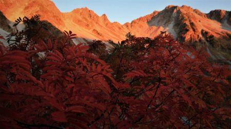 北穂高岳3016m滝谷と前穂高岳3090m北尾根