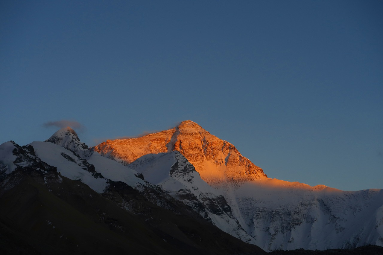 世界最高峰エベレスト登山隊2017チベット写真集