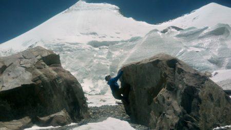 氷床谷ハイキングその2 更に奥へ