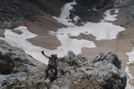 スロベニア最高峰トリグラフ2864m登頂!