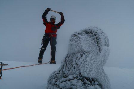 阿弥陀岳2805m南稜登頂!