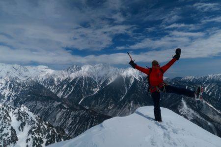 笠ヶ岳2898m届かず雷鳥岩2500m登頂!