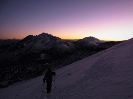 南米チリ最高峰オホス・デル・サラド6893m バランカス・ブランカス6119m