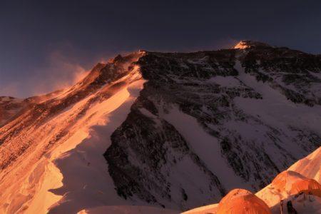 中国チベット エベレスト・ノースコル7020m