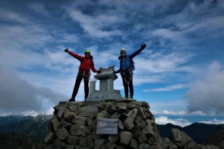 奥穂高岳3190m登頂!ジャンダルム3163m縦走!その2