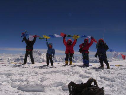 13年前の今日も チョー・オユー8201m登頂
