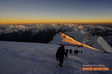 9年前の今日も マナスル8163m登頂