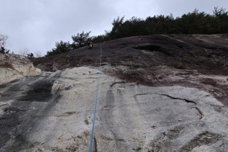 今シーズン最後の小川山岩登り講習会