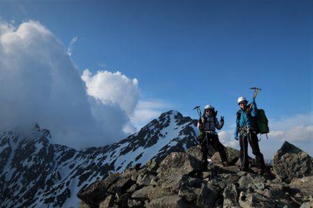 穂高連峰 明神岳2931m東稜