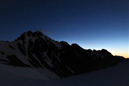 剱岳2999m八ツ峰下半縦走