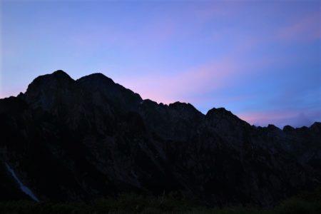 8月19日~22日 北アルプス 剱岳2999m 八ツ峰Ⅵ峰Cフェース~上半縦走3日間+予備日